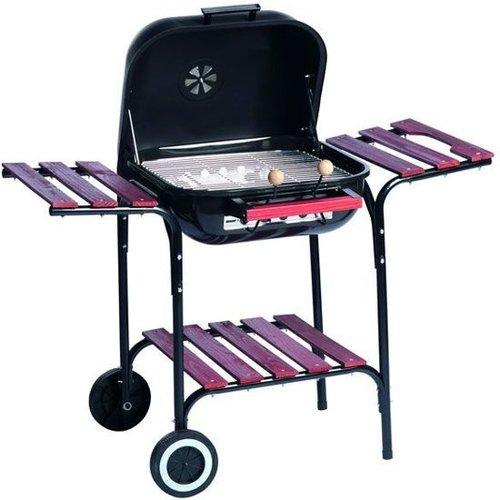 Barbecue Barbecue Staal Verrijdbaar - 100x57x79 Cm