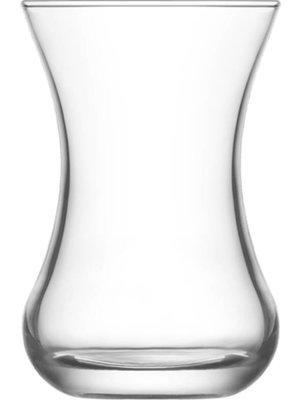 Lav Lav Turkse Theeglazen Demet - 6 Stuks