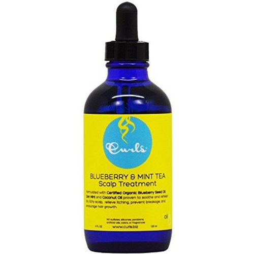 Curls Curls Blueberry & Mint Tea Scalp Treatment 120 ml