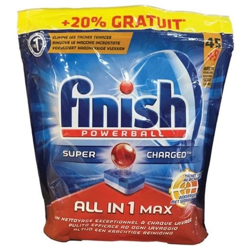 Finish Finish Powerball All In One Met Vlekverwijderaar - 54 Tabs