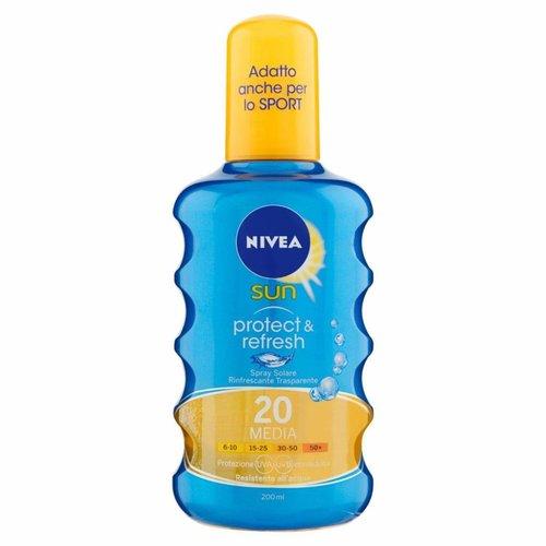Nivea Nivea Sun Protect & Refresh Spf 20 - 200 Ml