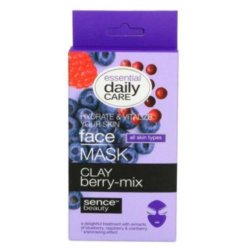 SENCEBEAUTY Sencebeauty Face Mask Berry Mix - 5x6 Gram