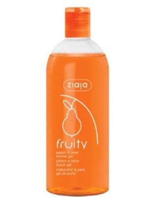 Ziaja Ziaja Fruity Showergel Peach & Pear - 500 Ml