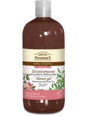 Green Pharmacy Green Pharmacy Showergel Muscat Rose & Green Tea - 500 Ml