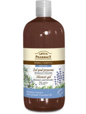 Green Pharmacy Green Pharmacy Showergel Rosemary & Lavender - 500 Ml