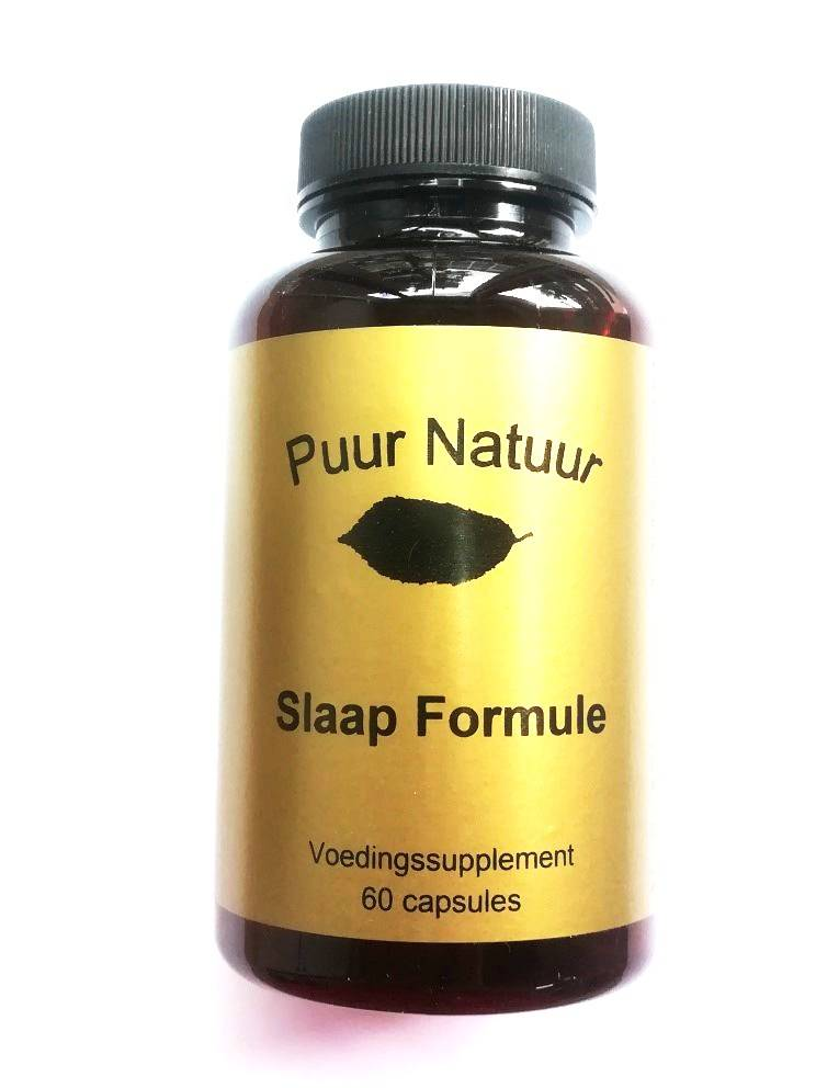 Image of Puur Natuur Puur Natuur Slaap Formule - 60 Tabletten