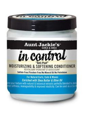Aunt Aunt Jackie's In Control Moisturizing And Softening Conditioner  426 Gram