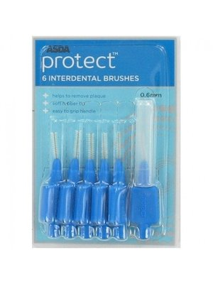 Protect Protect Interdentale Ragers 0.6mm - 6 Stuks