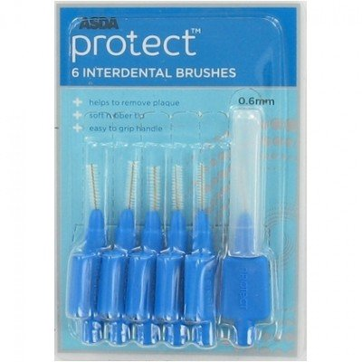 Protect Protect Interdentale Ragers 0.6mm – 6 Stuks