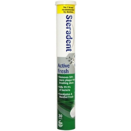 Steradent Steradent Active Fresh - 30 Tabs