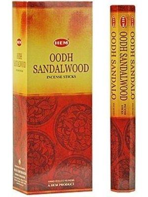 Wierook Wierook Oodh Sandalwood - 20 Stokjes
