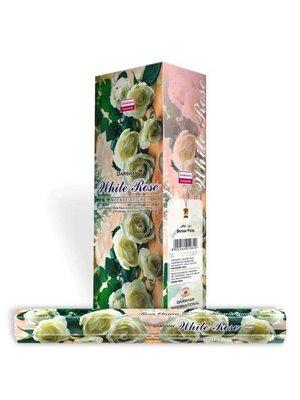 Wierook Wierook White Rose - 20 Stokjes