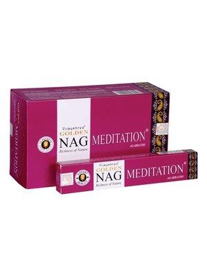 Wierook Wierook Nag Golden Meditation  20 stokjes