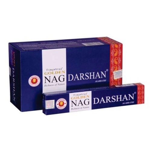Wierook Wierook Nag Golden Darshan 20 stokjes