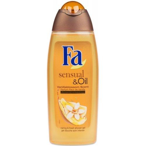 Fa Fa Douche Gel Sensuel Oil Vanille - 300 Ml