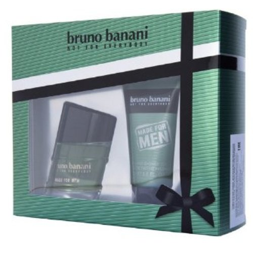 Bruno Banani Bruno Banani Made For Man Edt 20 Ml & Showergel 50 Ml - 1 Stuks