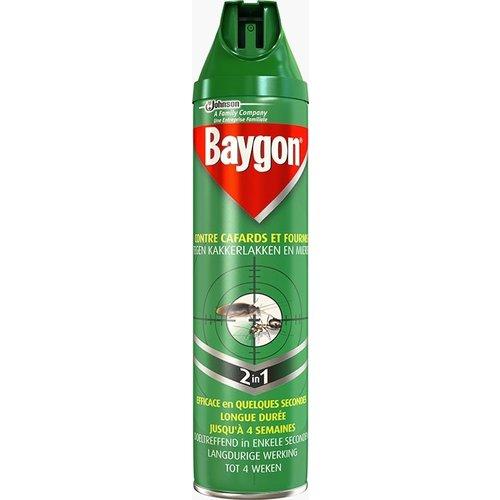 Baygon Baygon Spray Tegen Kakkerlakken & Mieren - 600 Ml