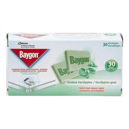 Baygon Baygon Verdamper Tegen Muggen Navul Eucalyptus - 30 Tabletten