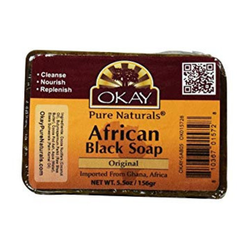 Okay Okay African Black Soap 156 Gram