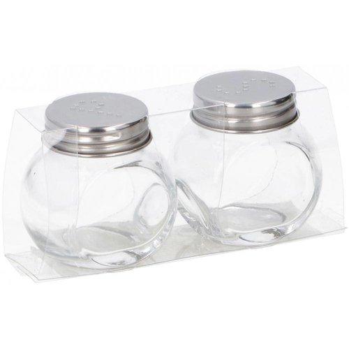Zout Zout & Peper Set Glas - 1 Stuks