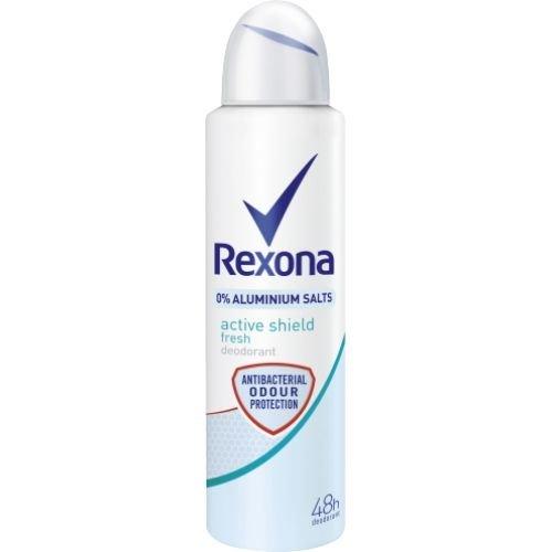 Rexona Rexona Women Deospray Active Shield Fresh 0% Aluminium - 150 Ml