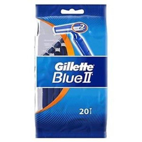 Gillette Gillette Wegwerp Scheermes - Blue II Plus 20 stuks