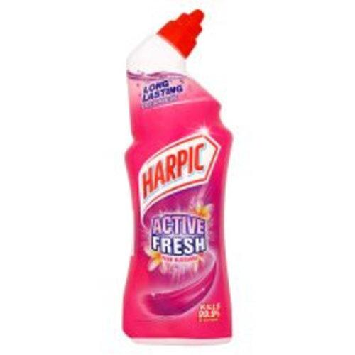 Harpic Harpic Active Fresh Toiletreiniger Pink Blossom - 750 Ml