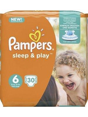 Pampers Pampers Sleep & Play Luiers Nr 6 - 30 Stuks uitverkocht!!!!!