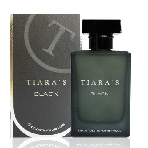 Tiara's TIARA'S BLACK FOR MEN EDT SPRAY - 50 ML