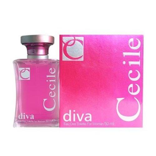 Cecile Cecile parfum edt diva - 50 ML