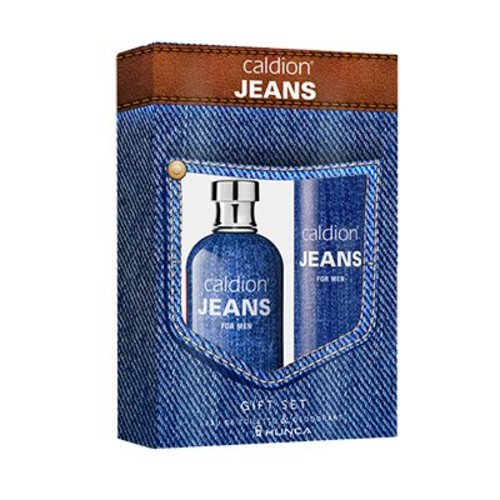 Caldion Caldion Jeans For Men 100 Ml Edt & Deo 150 Ml - 1 Stuks