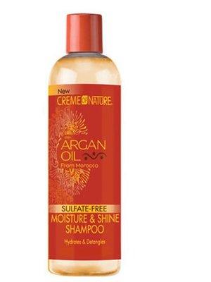 Creme of Nature Creme Of Nature Argan Oil Moisture & Shine Sulfate - Free Shampoo 354 ml