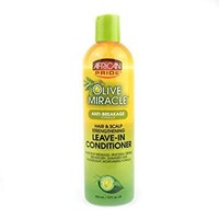 African Pride Olive Miracle Anti-Breakage Leave-In Conditioner  355 ml
