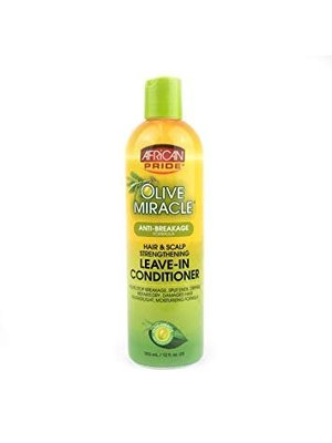 African Pride African Pride Olive Miracle Anti-Breakage Leave-In Conditioner  355 ml