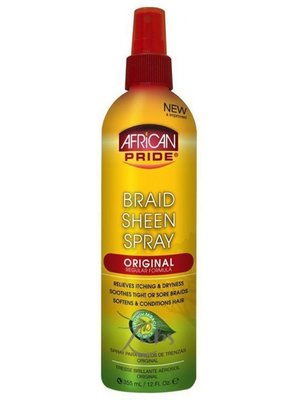 African Pride African Pride Brain Sheen Spray 355 ml