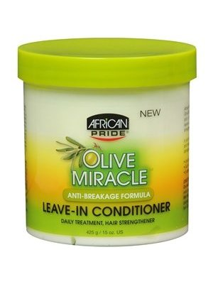 African Pride African Pride Olive Miracle Anti-Breakage Leave-In Conditioner 425 gram