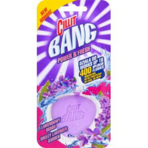 Cillit Bang Cillit Bang Power & Fresh Wc Blok Lavendel - 40 Gram