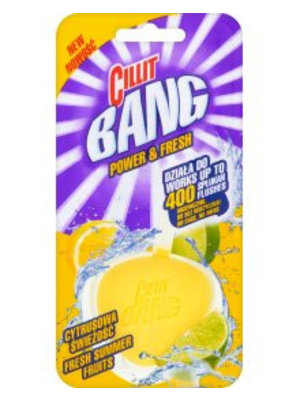 Cillit Bang Cillit Bang Power & Fresh Wc Blok Citroen - 40 Gram