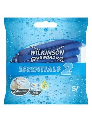 Wilkinson Wilkinson Sword Essentials 2 Wegwerpmesjes - 5 Stuks