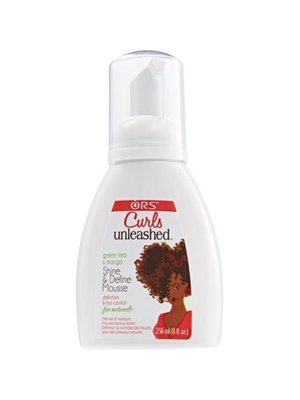 Curls Curls Unleashed Ors Shine & Define Mousse 236 ml