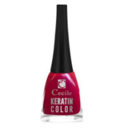 Cecile Cecile Nagellak Keratine Color Rood - 18