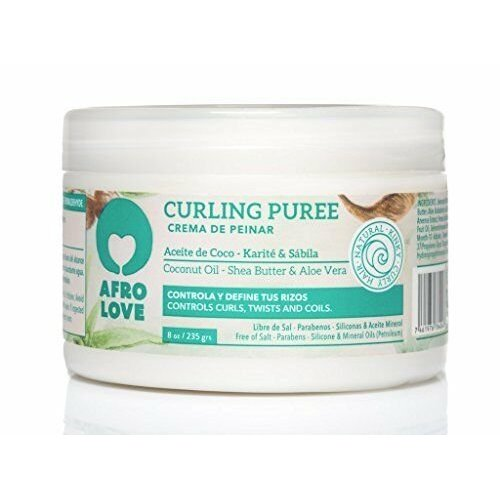 Afro love Afro love curling puree coconut/shea butter/aloe vera 235 gram