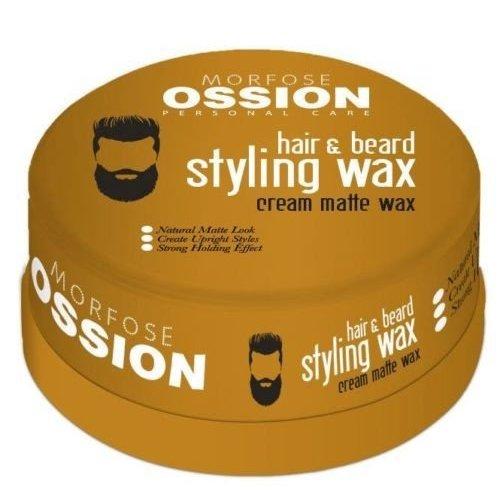 Ossion  matte baard en haarwax 150 ml