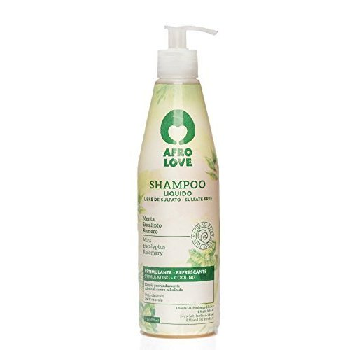 Afro love Afro love shampoo mint/eucalyptus/ rozemarijn 450 ml