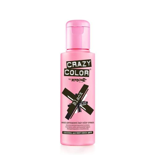 Crazy color Crazy color naturel black no 32  100 ml