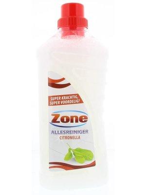 Citronella Zone allesreiniger Citronella - 1 Liter