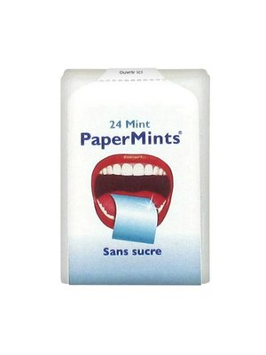 Snoep Papermints 24 mint sugar free