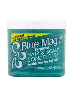 Blue magic Blue magic bergamot hair & scalp conditioner 340 gram