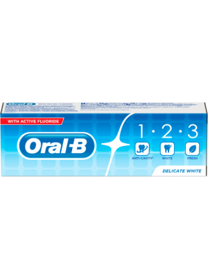 Oral B Oral B Tandpasta 123 75 ml
