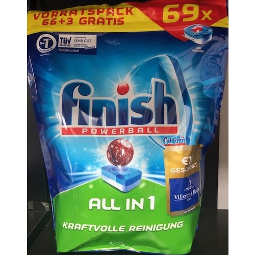 Finish Finish Powerball All In 1 Max - 69 Tabs